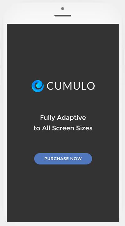 Cumulo on iPhone